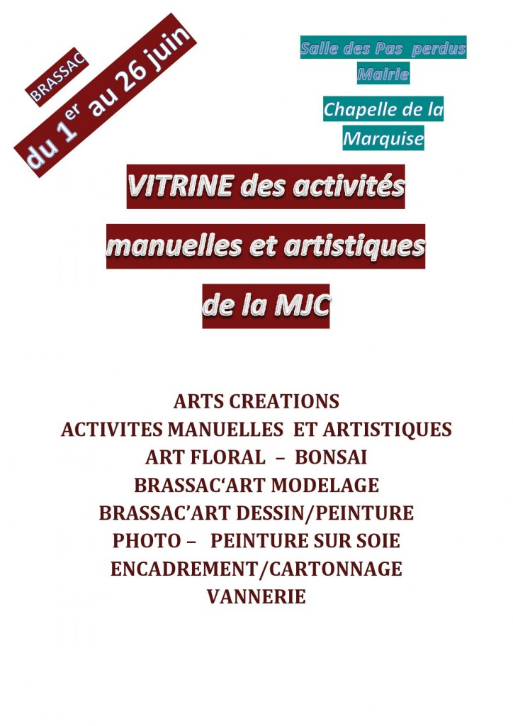 Vitrine MJC