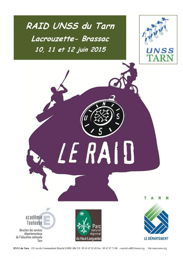 dossier de présentation Raid UNSS 2015