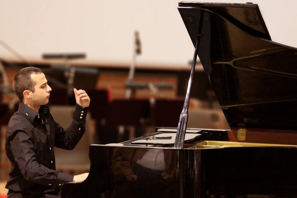 julien Gaudinière piano