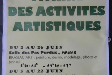 La vitrine des activités artistiques de la M.J.C.