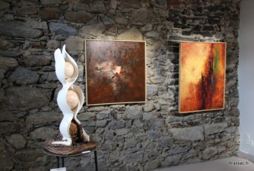 Vernissage de l'exposition «réminiscences à l'espace Jaël de Romano