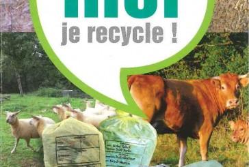 Collecte de plastiques agricoles.