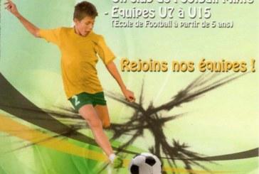 École de foot du F.C. Brassac.