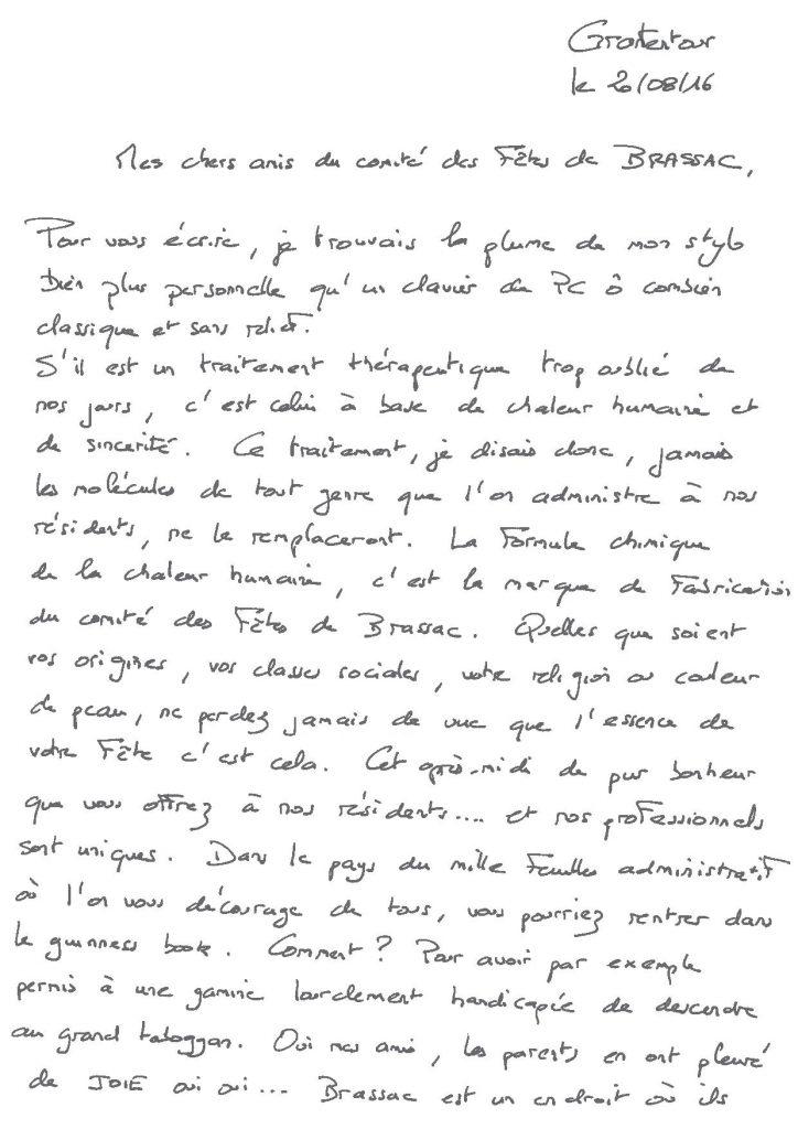 Lettre Marie-Louise