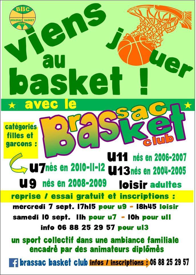 Basket Brassac