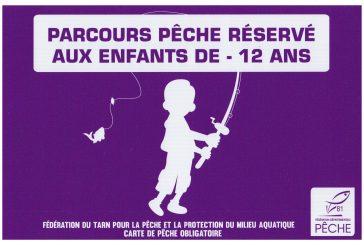 Un parcours de pêche réservé aux enfants…