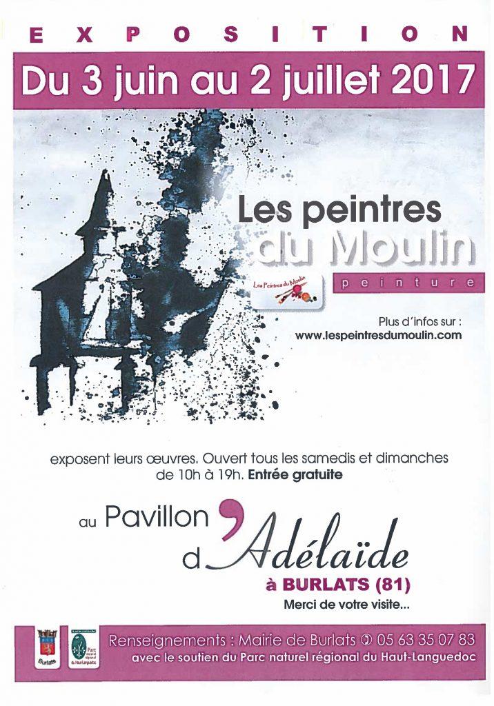 Exposition peintre du moulin