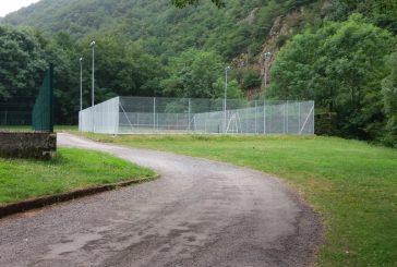 Le court de Tennis a nouveau opérationnel..
