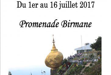 Expo Photo – Promenade Birmane