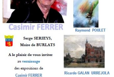 Expo peintures à BURLATS