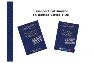 Passeport patrimoine en Hautes Terres d'Oc.