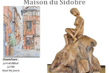 Exposition de sculptures sur bois et aquarelles