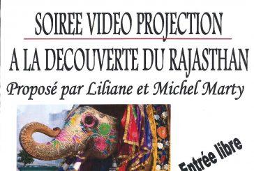 Vidéo Projection «A la découverte du Rajasthan»