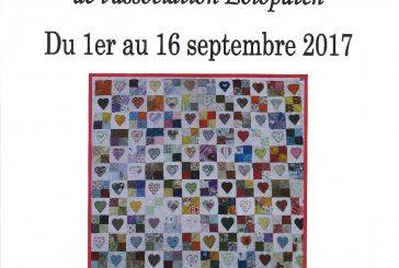 Exposition patchwork du 1er au 16 septembre 2017