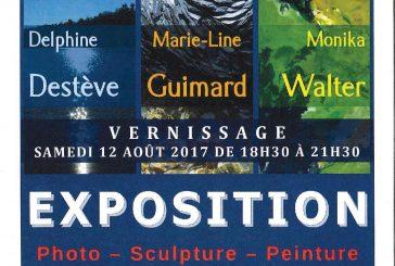 Expo photo-sculpture-peinture du 12 au 26 août…