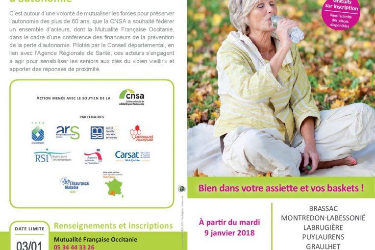 Ateliers Santé avec la mutualité française…