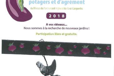 Concours de jardins potagers et d'agrément 2018