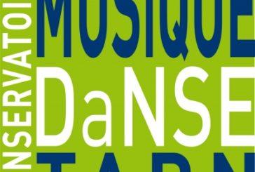 Inscriptions au conservatoire de musique et de danse du Tarn.
