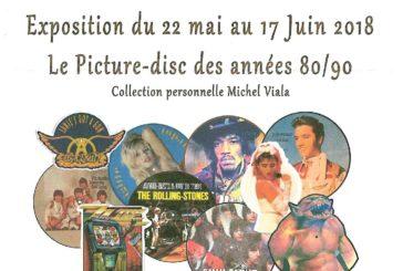 Picture-disc des années 80/90 à LACAZE