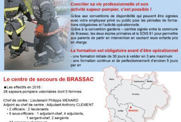 Les pompiers ont besoin de vous ….