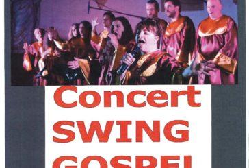 Concert swing gospel le 25 juillet à 21 heures