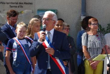 Inauguration de l'Allée du Château.