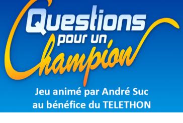 Téléthon : Questions pour un Champion