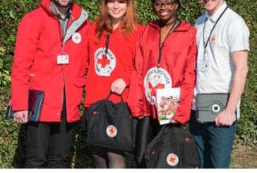 Croix Rouge : campagne de sensibilisation