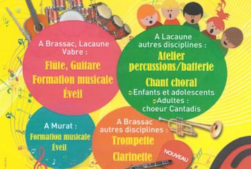 Inscriptions au conservatoire de Musique du Tarn