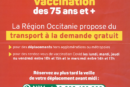Covid-19 : Vaccination et navettes gratuites