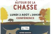 Conférence : pratiques et croyances autour de la chasse