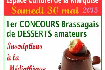 Premier concours Brassagais de desserts amateurs