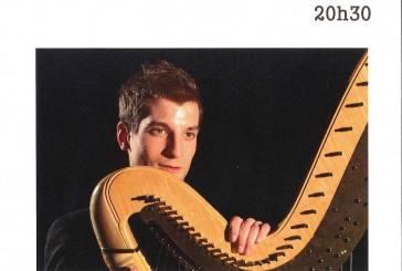 Concert de Harpe celtique et classique le 15/07/2015