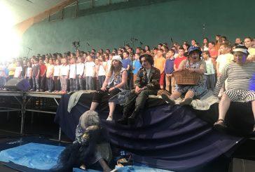 Le R.E.R. vent d'autan et le collège de Brassac mettent le chant choral à l'honneur.