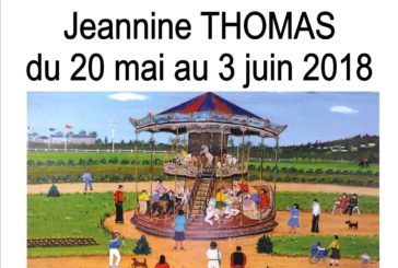 Exposition peintures naïves Jeanine THOMAS.