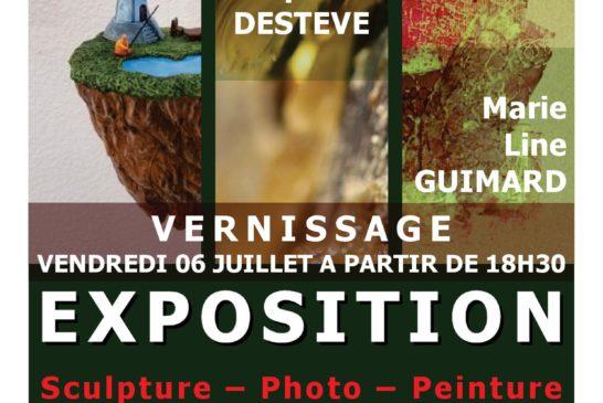 Expo GOMEZ – DESTEVE – GUIMARD