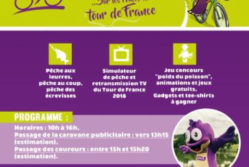 Le Tour de France 2018 passe à Brassac, le 22 juillet !