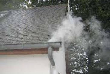 Réalisation de tests à la fumée sur les réseaux d'assainissement de la commune