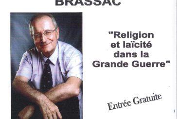 Conférence «Religion et Laïcité dans la grande guerre»