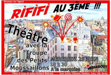 Théâtre «Rififi au 3ème»