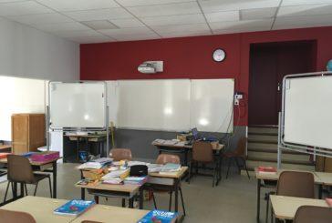 Travaux à l'école Louis Cavaillès