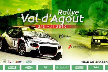 Rallye Val d'Agout – Communiqué