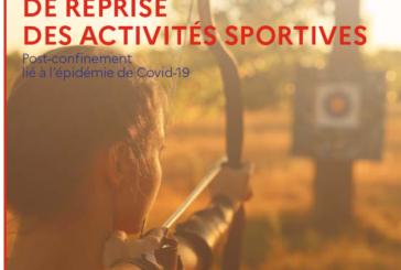COVID-19 : reprise des activités sportives