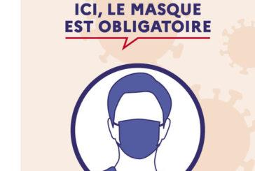 Rappel : port du masque et respect des gestes barrières